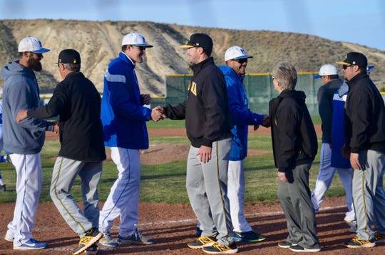 Carol Laube is an assistant baseball coach at Galena.