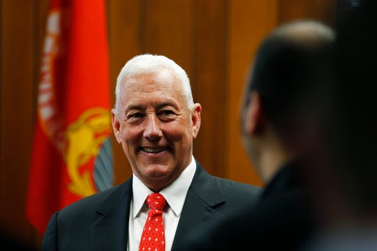 U.S. Rep. Greg Pence was in Richmond on Friday, May 3, 2019, to formally open his office at the Richmond Municipal Building.