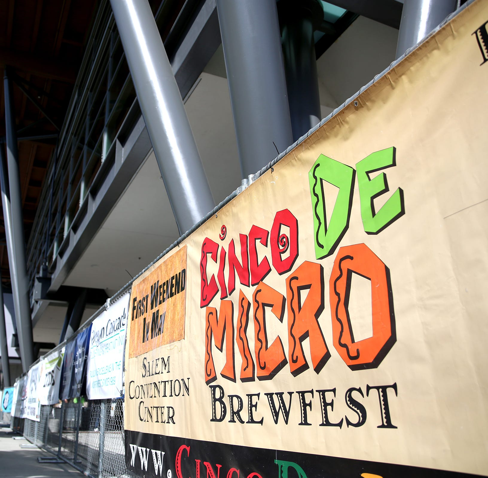 Four tables to visit at the Cinco de Micro Brewfest 2019 in downtown Salem