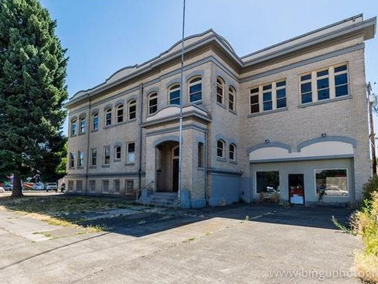 The former city hall on First Street in Woodburn will be remodeled into a mixed commercial and housing development with the help of a $200,000 grant.
