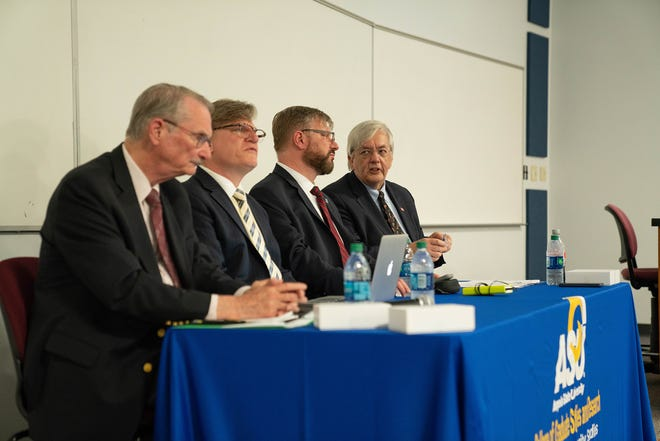 A panel of leading experts addressed North Korean political and military issues for ASU's 2019 Center for Security Studies Symposium in April.