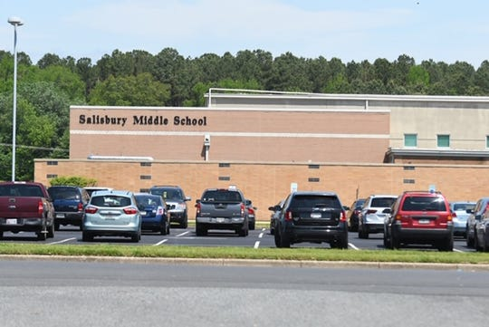 "Salisbury Middle School was evacuated Friday after a ""threatening phone call."""