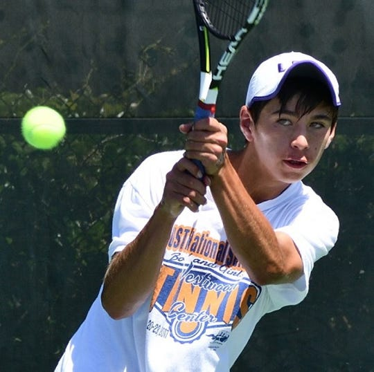 Calvary's Andrew Otzenberger is The Times Athlete of the Week.