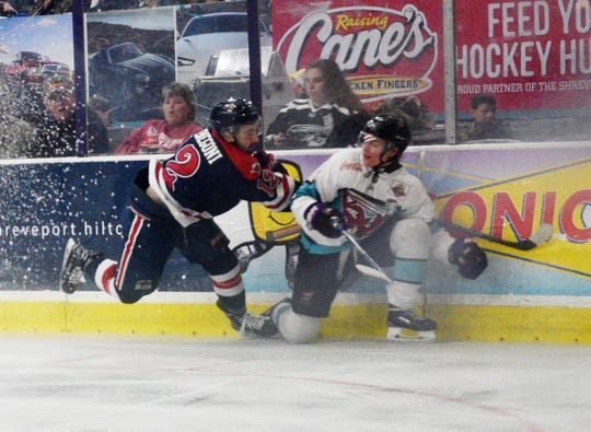 Mudbugs vs. Amarillo in NAHL South Division Final May 2, 2019 on George's Pond at Hirsch Coliseum.