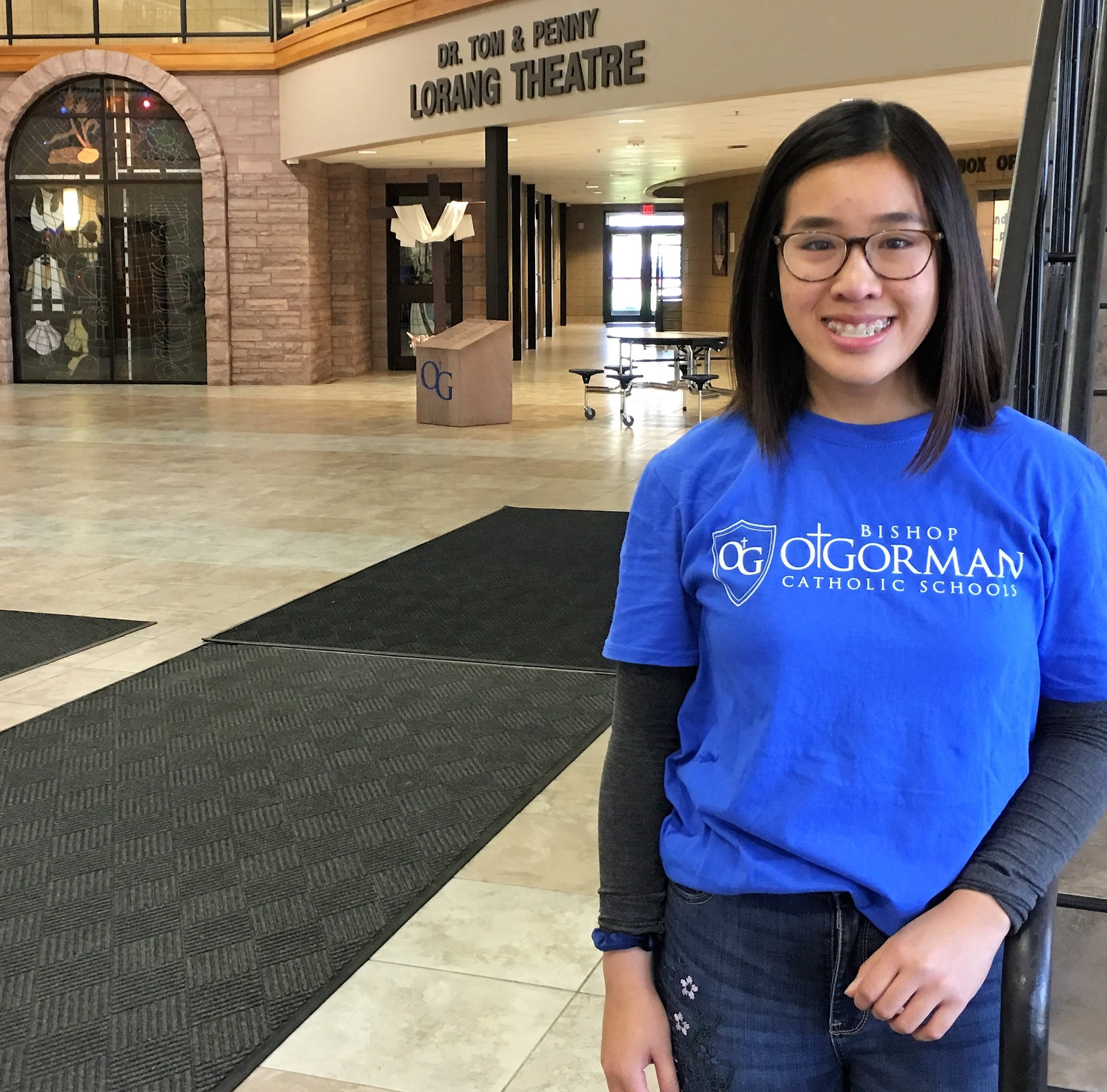Two months after her mother's death, this O'Gorman student is med-school bound at 17