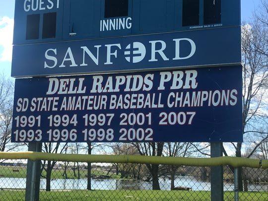 Dell Rapids PBR hopes to get back to the Class B state tournament. They last won it in 2007, and failed to get to the tournament last year after an impressive win in the opening game of the district.