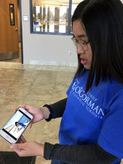 Missy Pham, the youngest student to graduate from O'Gorman High School in recent history, talks about her mother mother Stephanie Pham, who died unexpectedly in February.