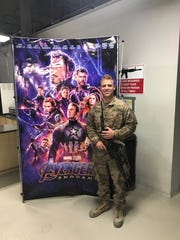 "Walt Disney Studios set up a private showing of ""Avengers: Endgame"" for Army Officer Luke Meyers, 24, and hundreds of others on his base in Afghanistan after a viral tweet about it."
