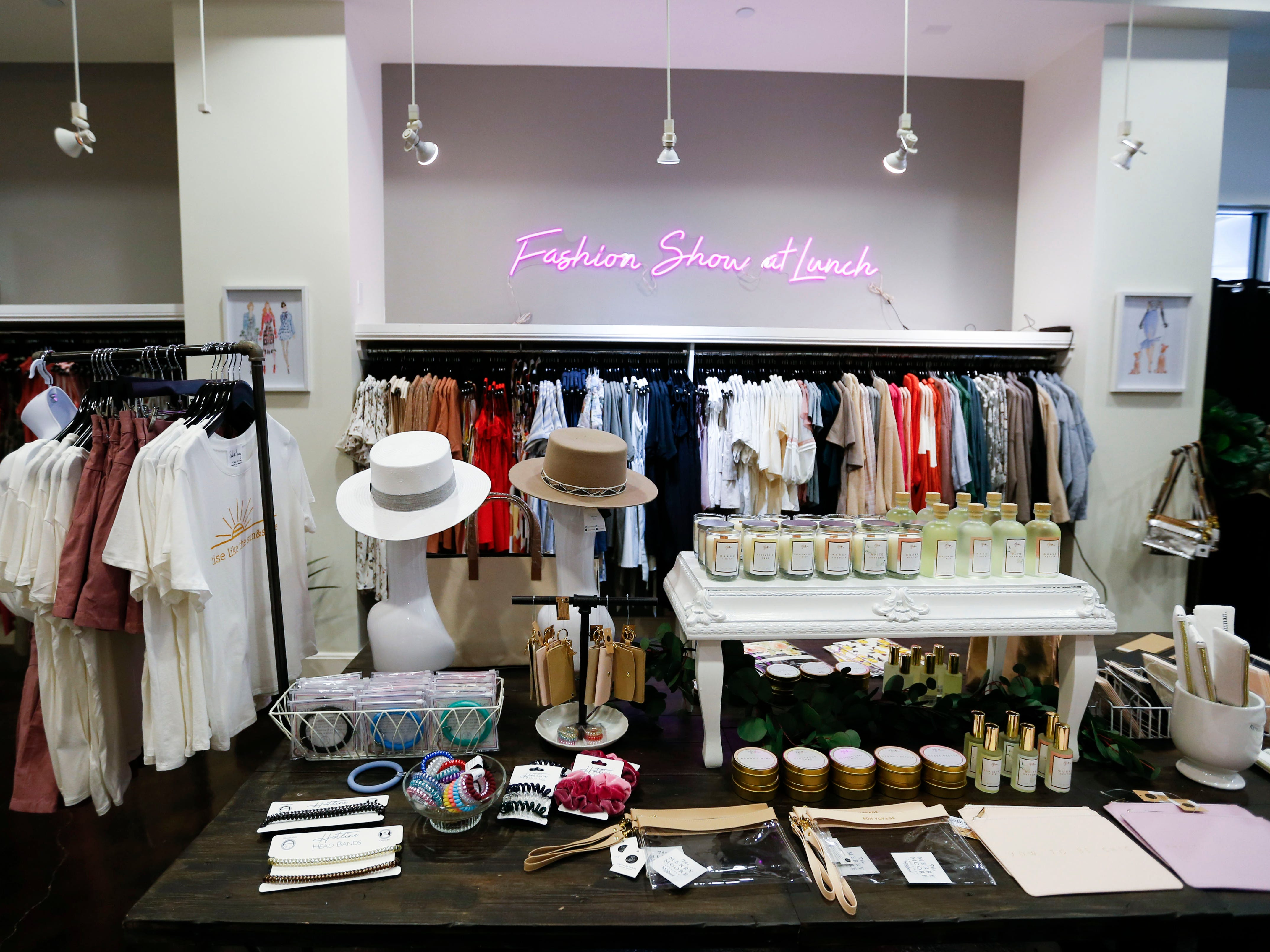 Inside the new downtown fashion boutique The Merry Moore on Thursday, May 2, 2019.