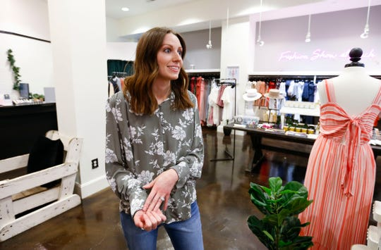 Hayley Moore Valdez talks about the new fashion boutique she is opening downtown called The Merry Moore, located where the former Ella Weiss Wedding Design used to sell dresses.