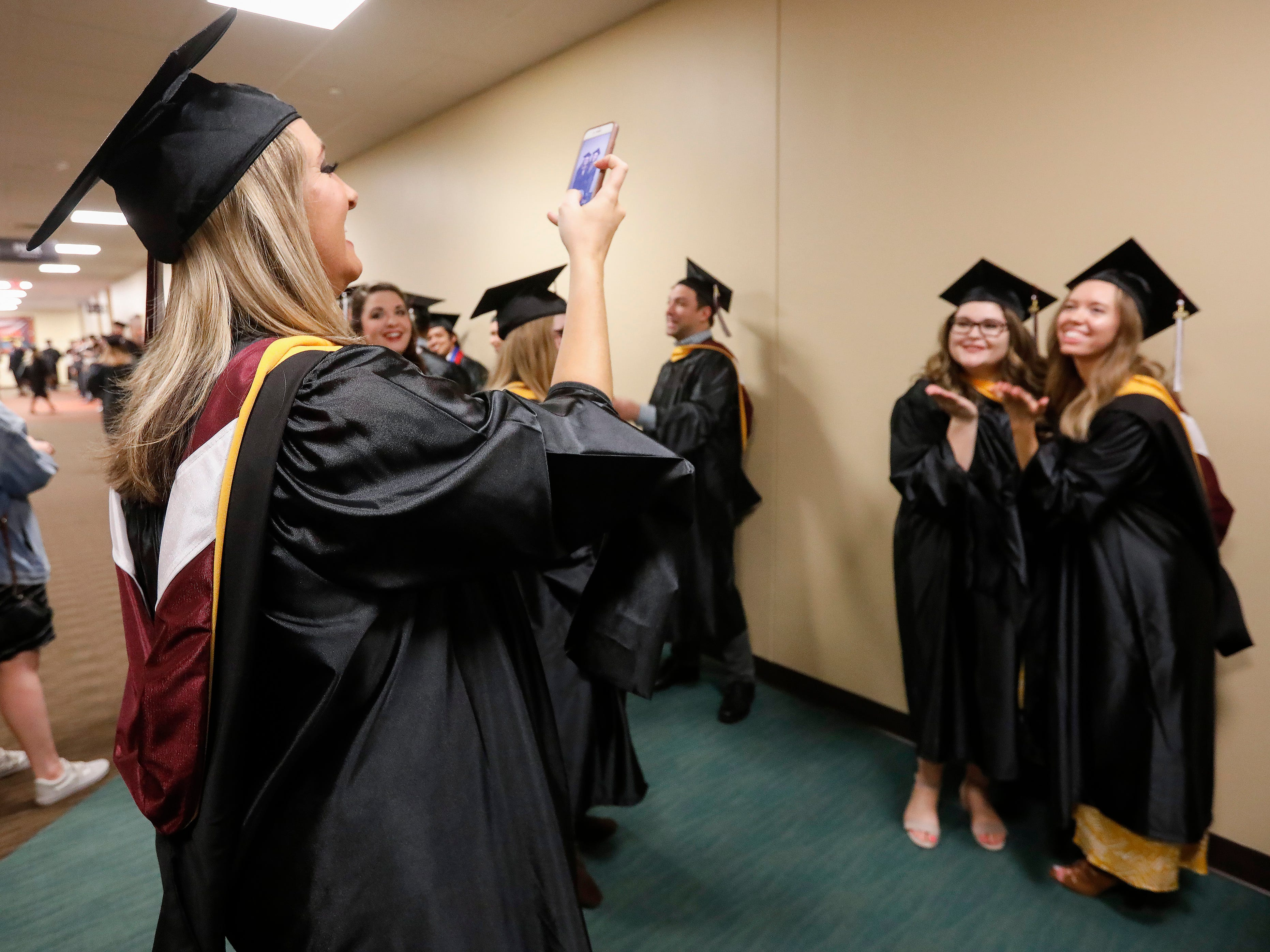 Scenes from Evangel University's 2019 Commencement Ceremony at James River Church in Ozark on Friday, May 3, 2019.