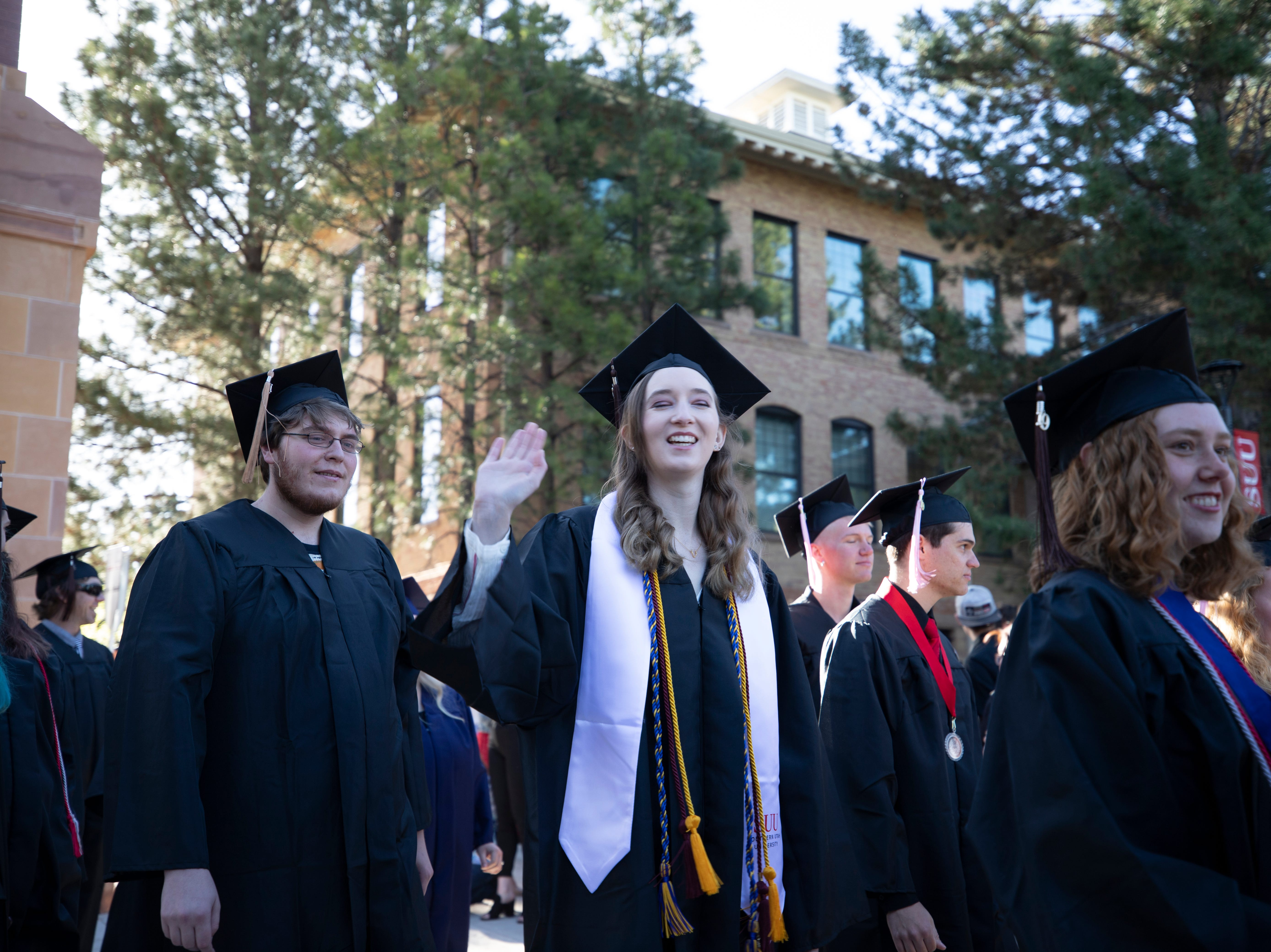 2019 commencement ceremonies at Southern Utah University.