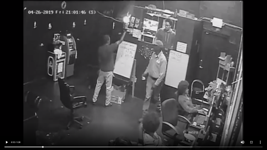 TPD posted dramatic video Thursday afternoon on Twitter of a robbery that happened around 9 p.m. at the Arcade Center, 1889 N. Martin Luther King Jr. Blvd.