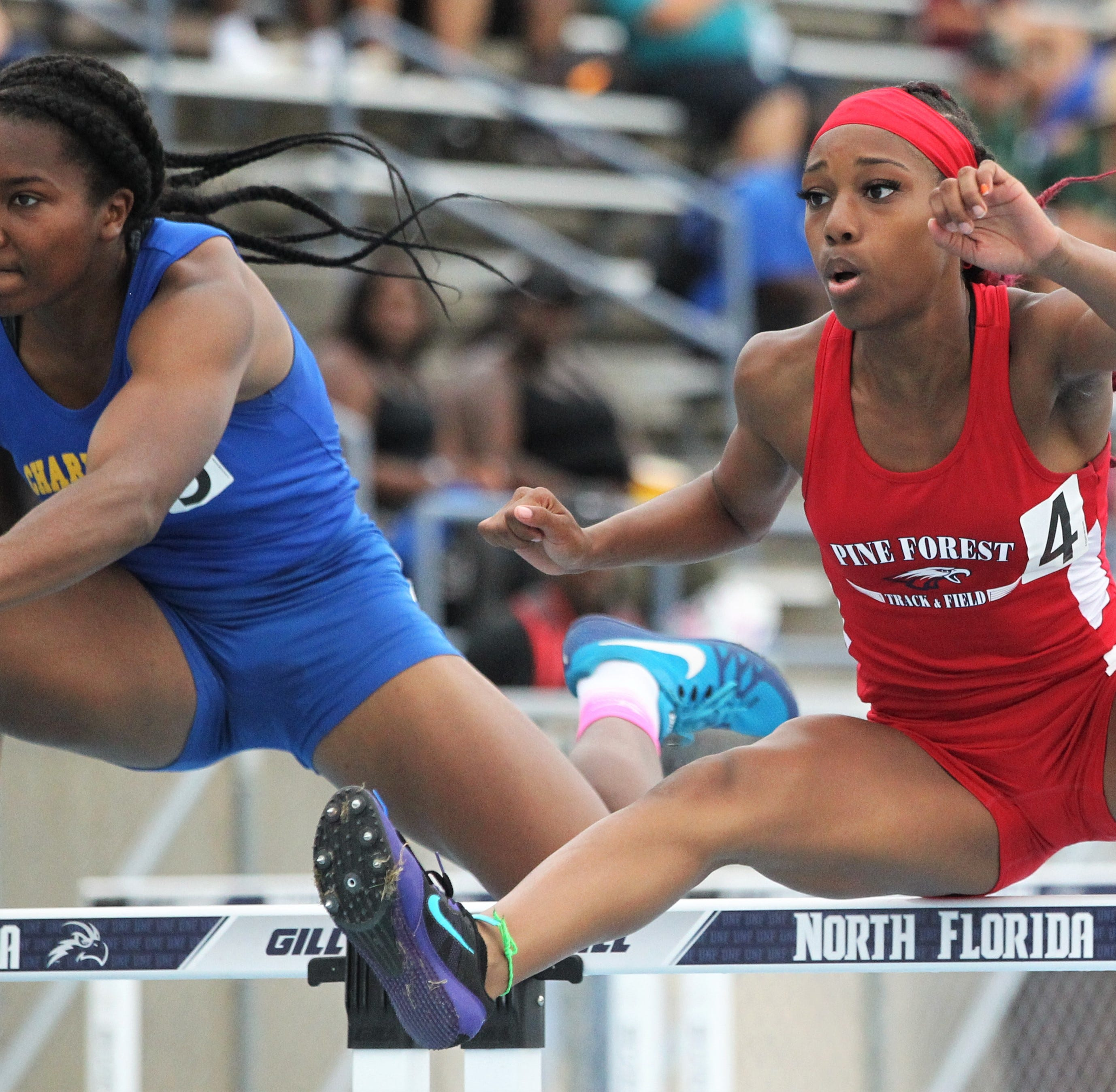 Pine Forest hurdler, Pensacola Christian vaulter win state titles