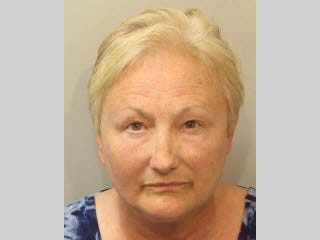 Former Home Shopping Network host Christine Scanlon was arrested in Tallahassee