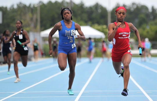 FHSAA Track & Field State Championships at Hodges Stadium on the campus of the University of North Florida, Day 1, Friday, May 3, 2019.