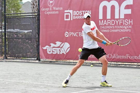 Dragos Ignat of Romania had yet to play his first round doubles match yet at the Mardy Fish Children's Foundation Tennis Championships as of late Friday due to the rain.