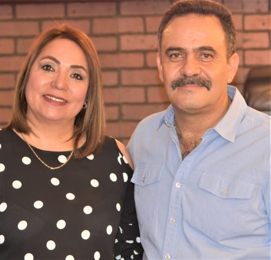 Jose and Monica Montalvo, owners of the Speedy's Pizza chain in El Paso.