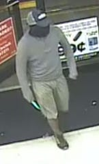 A man who robbed two stores on Dyer Street on April 22, 2019, and April 23, 2019, is the target of the Crime Stoppers of El Paso's Crime of the Week.