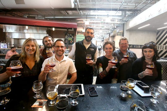A team of judges picked a Firestone Walker beer as the best out of 16 local and regional brews.