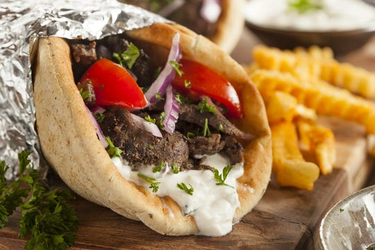 Greek cuisine including gyro, souvlaki, moussaka, pastitsio, cheese and spinach pies, pastries and sweets will be available at the 39th annual Greek Festival, hosted by the Greek Orthodox Church of St. Anthony at 430 W. Wheat Road in Vineland from May 23 to 26, rain or shine.