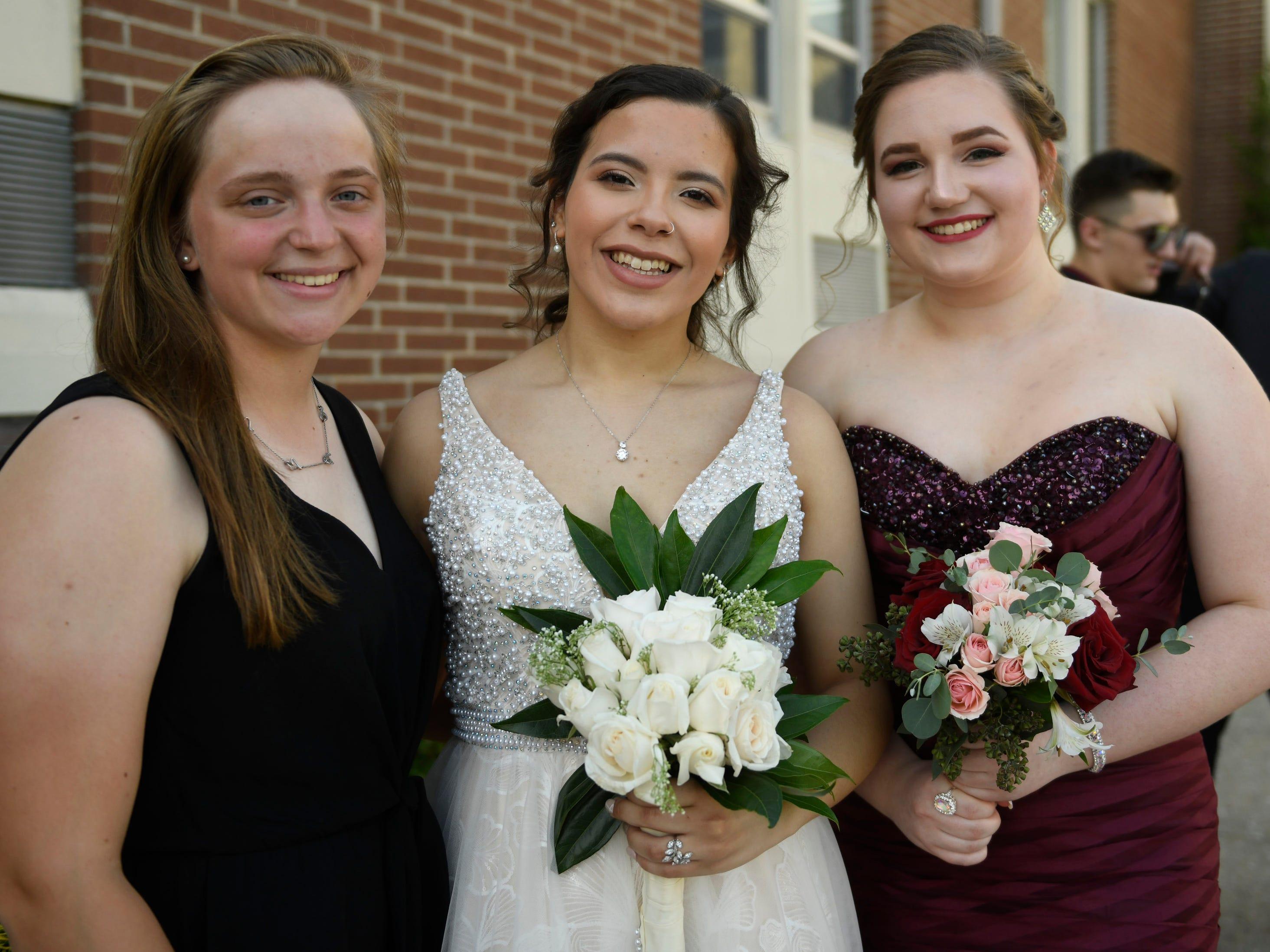 Buena Regional High School held it's pre-prom promenade in the school auditorium on Friday, May 3, 2019.