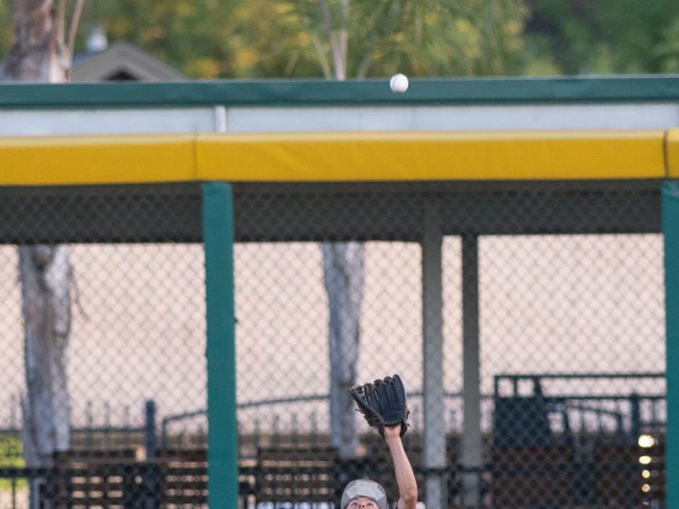Redwood hosts Mt. Whitney in a West Yosemite League high school baseball game at Recreation Park on Thursday, May 2, 2019.