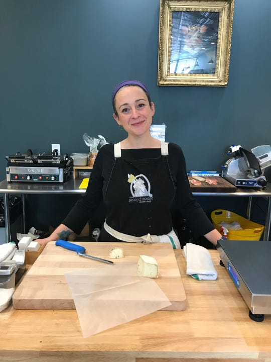 Ivy Ronquillo, the owner of Second Mouse Cheese Shop in Pleasantville.