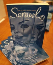 The Teen Division of the Library Association of Rockland County held the Scrawl launch party where the winners got a copy of the book at Pearl River Library May 2, 2019.
