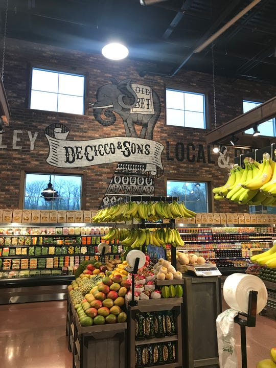 The new DeCicco & Sons in Somers features a nod to the town's circus history.