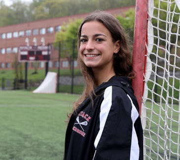 Morgan MacCartney, a field hockey and lacrosse player, from Nyack High School photographed May 3, 2019, is a Rockland Scholar-Athlete.