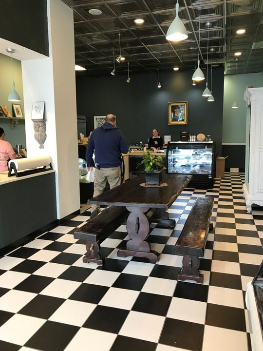 Second Mouse Cheese Shop in Pleasantville is mean for dining in as well as taking out.