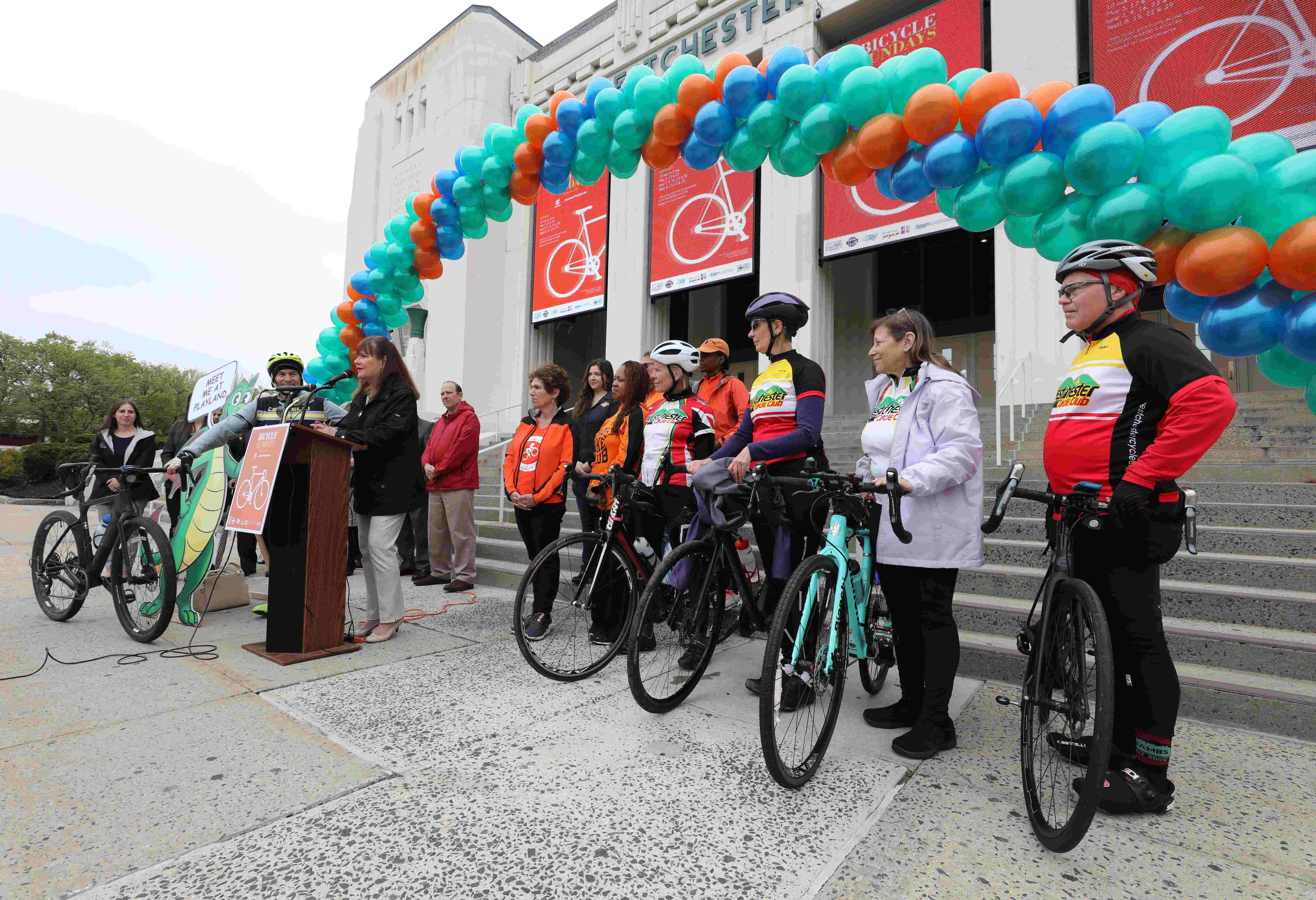 Bicycle Sundays 2019 kickoff in Westchester