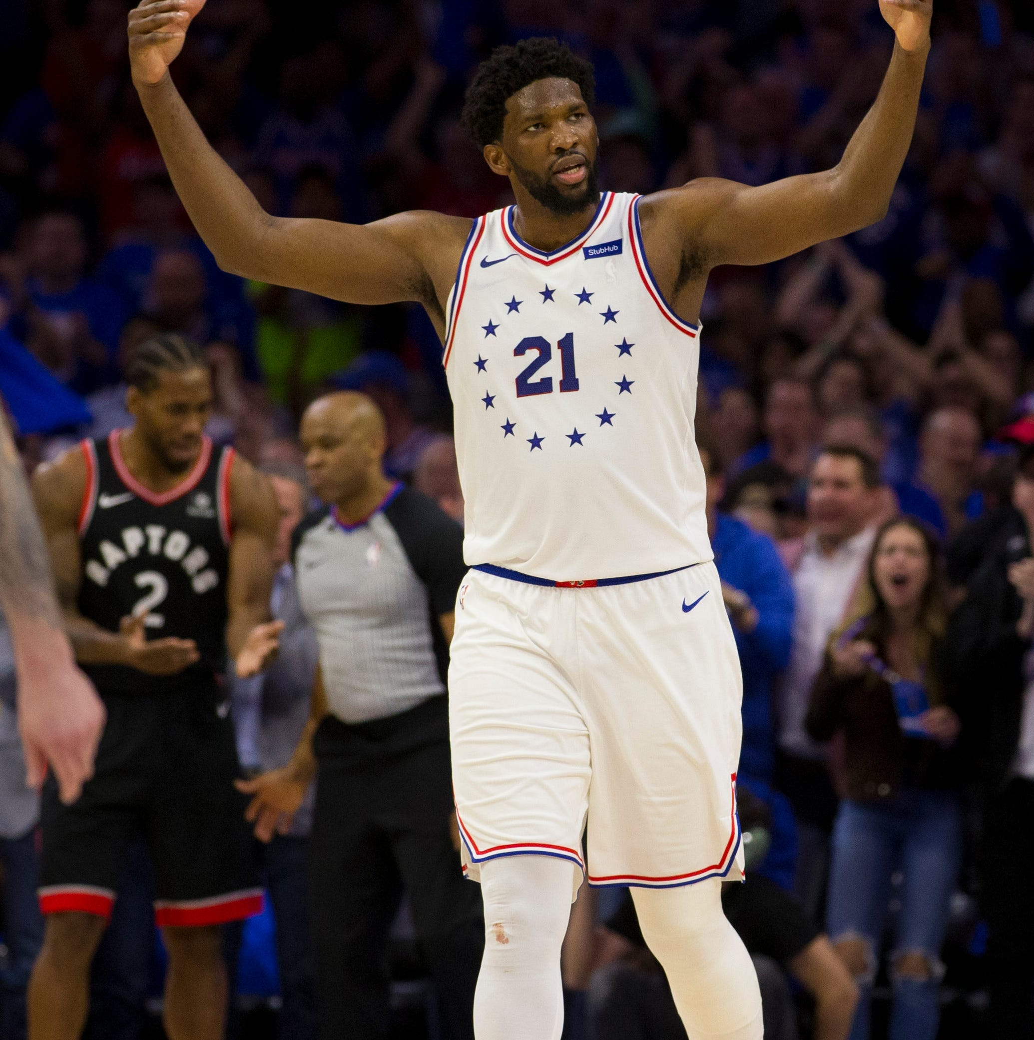 Sixers trounce Raptors with playoff lives on the line