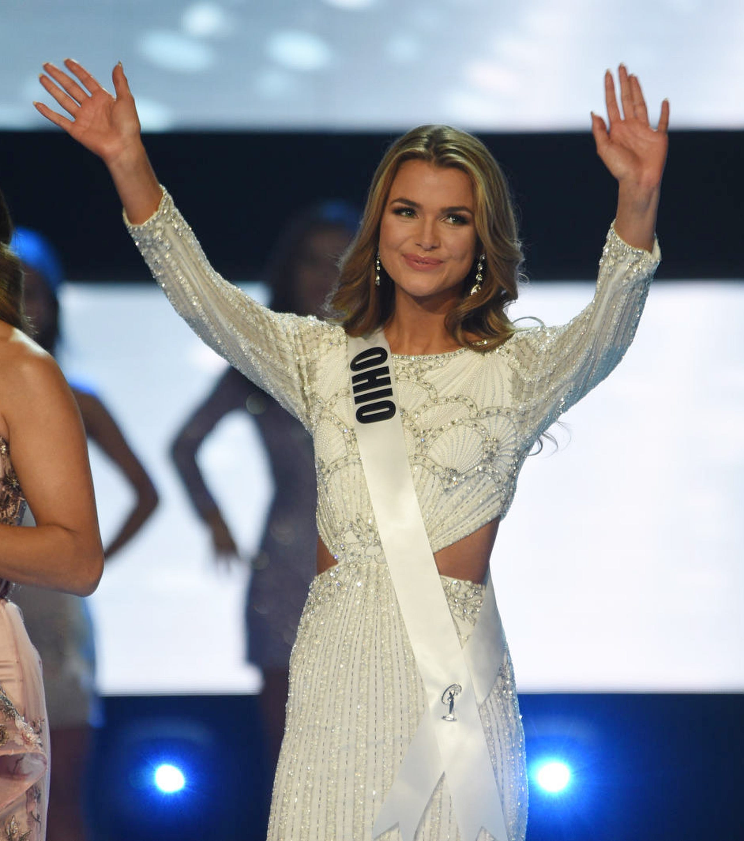 Miss Ohio Alice Magoto competes during Miss USA 2019.