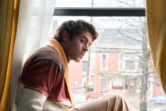 "Ted Bundy (Zac Efron) contemplates making a leap in ""Extremely Evil."""