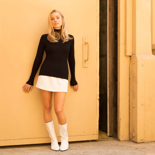 """Margot Robbie portrays Sharon Tate in Quentin Tarantino's """"Once Upon a Time in Hollywood."""""""