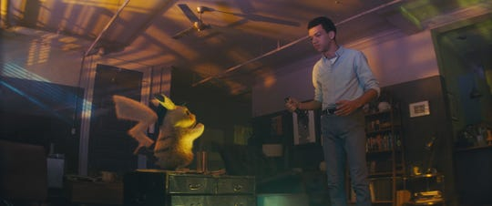 When Pikachu (Ryan Reynolds) and Tim (Justice Smith) meet, Pikachu doesn't remember anything and Tim just wants to figure out what happened to his dad.