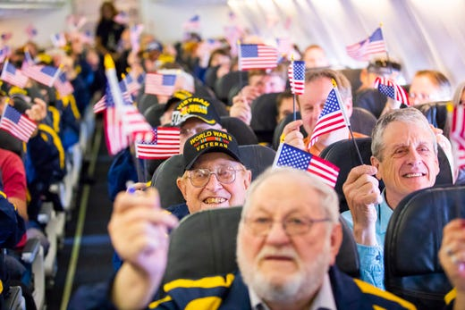 Alaska Airlines Livery Hails Military For Honor Flight