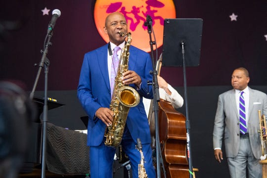 Branford Marsalis will headline this year's Clifford Brown Jazz Festival in Wilmington, Del.