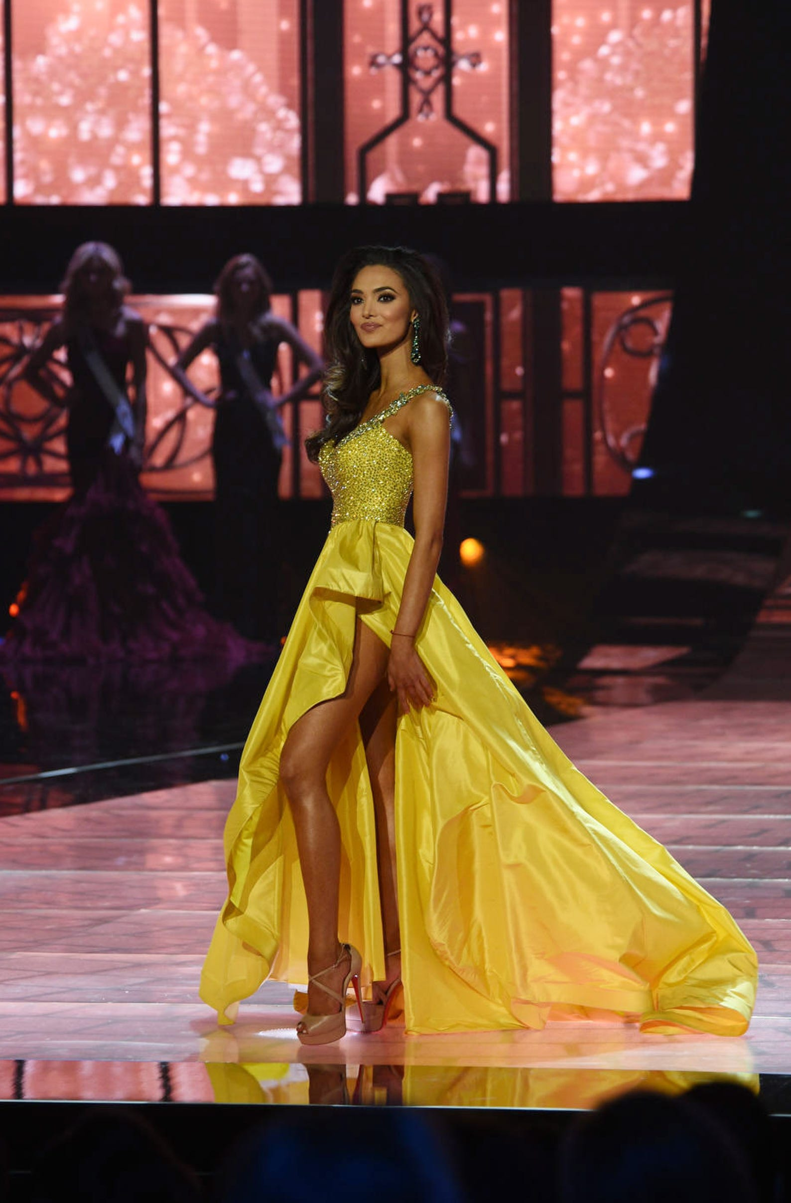 Miss New Mexico Alejandra Gonzalez competes during Miss USA 2019.