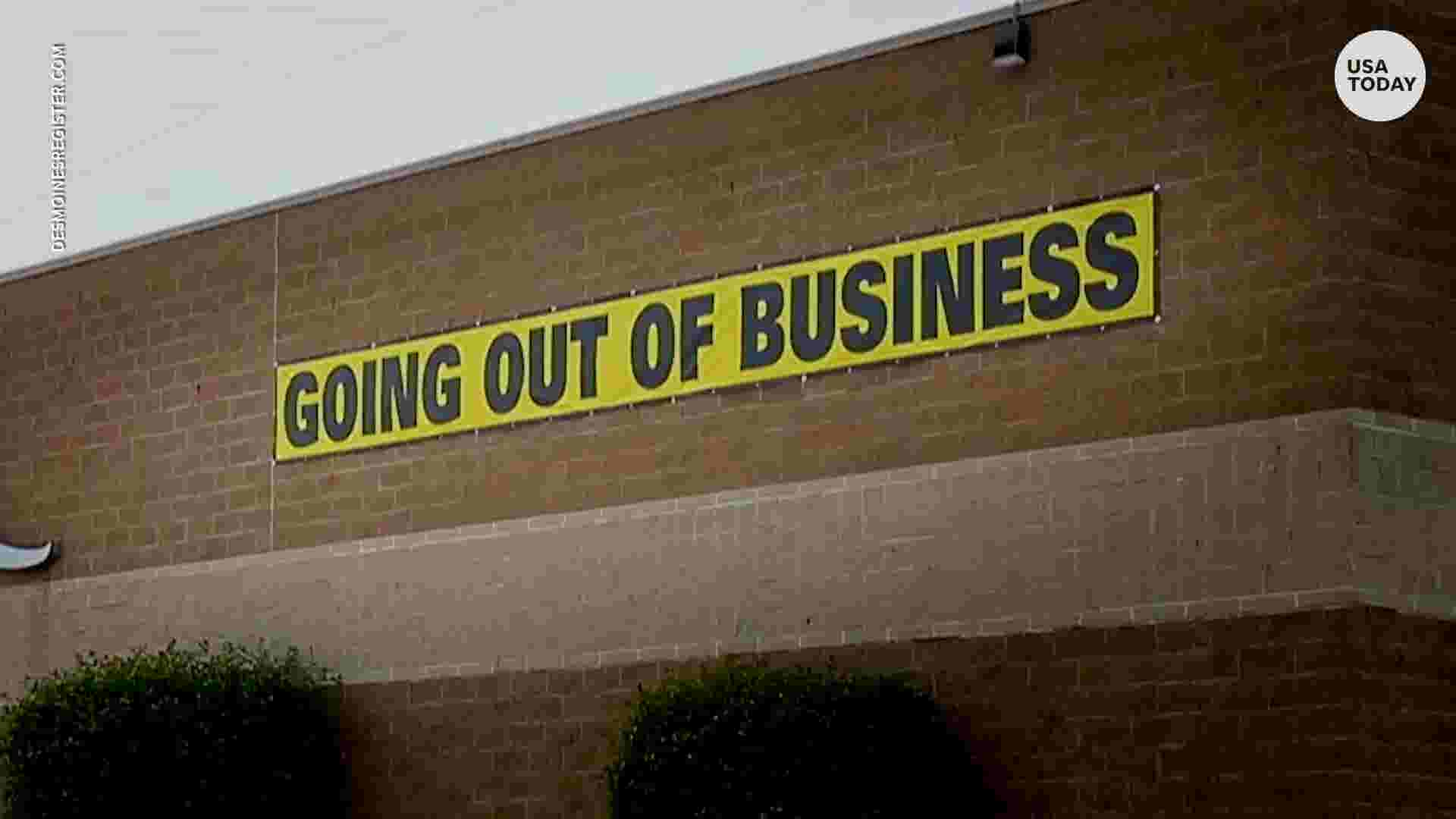 Stores closing their doors can blame themselves and shoppers