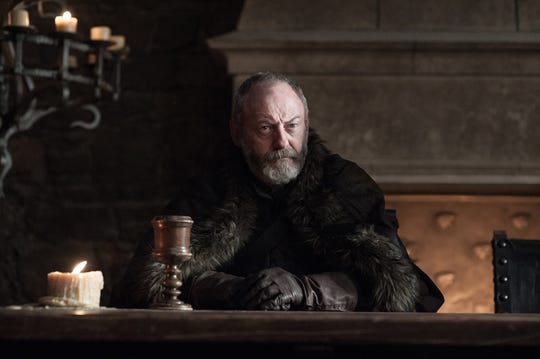 """Liam Cunningham, who plays Ser Davos Seaworth, was one of the """"Game of Thrones"""" stars who sent a person message to a fan in hospice care. She died the day after watching it and Episode 3."""