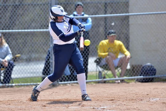 Ceara Larson of Lawrence University was voted the Midwest Conference softball player of the year Saturday.
