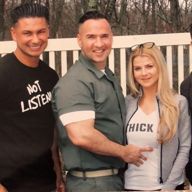 Michael 'The Situation' Sorrentino posts prison pics with his 'Jersey Shore' pals