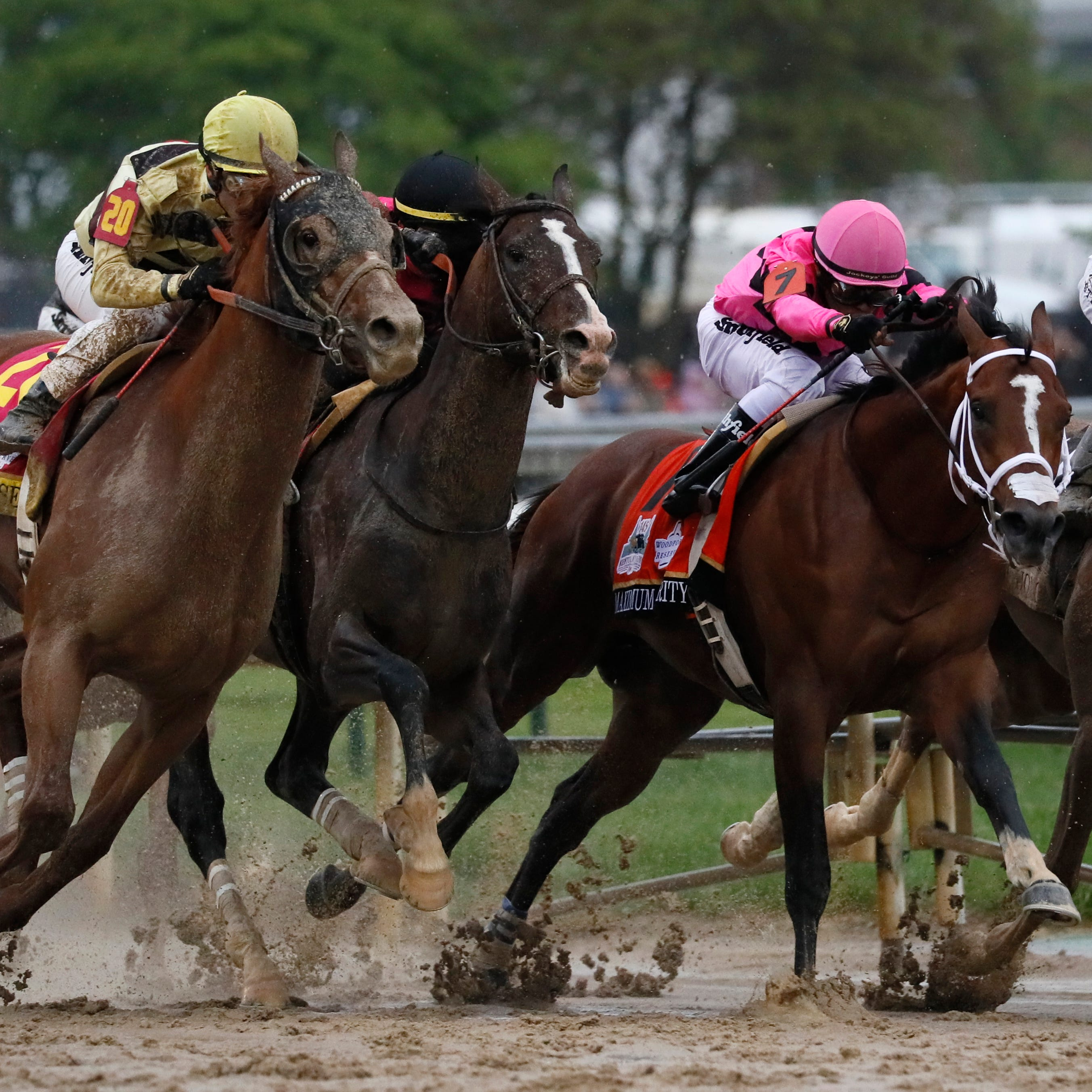 Maximum Security heads to NJ after Kentucky Derby disqualification, skipping Preakness