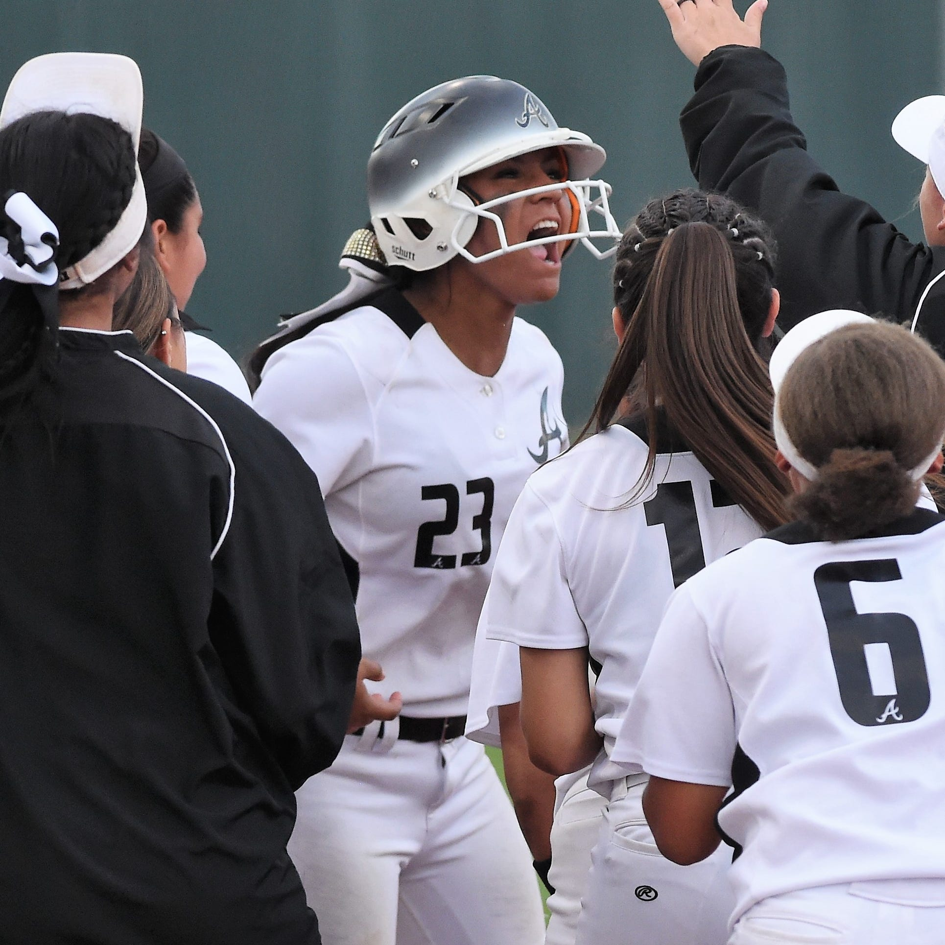 Abilene High survives wild Region I-6A area softball playoff opener against Odessa High