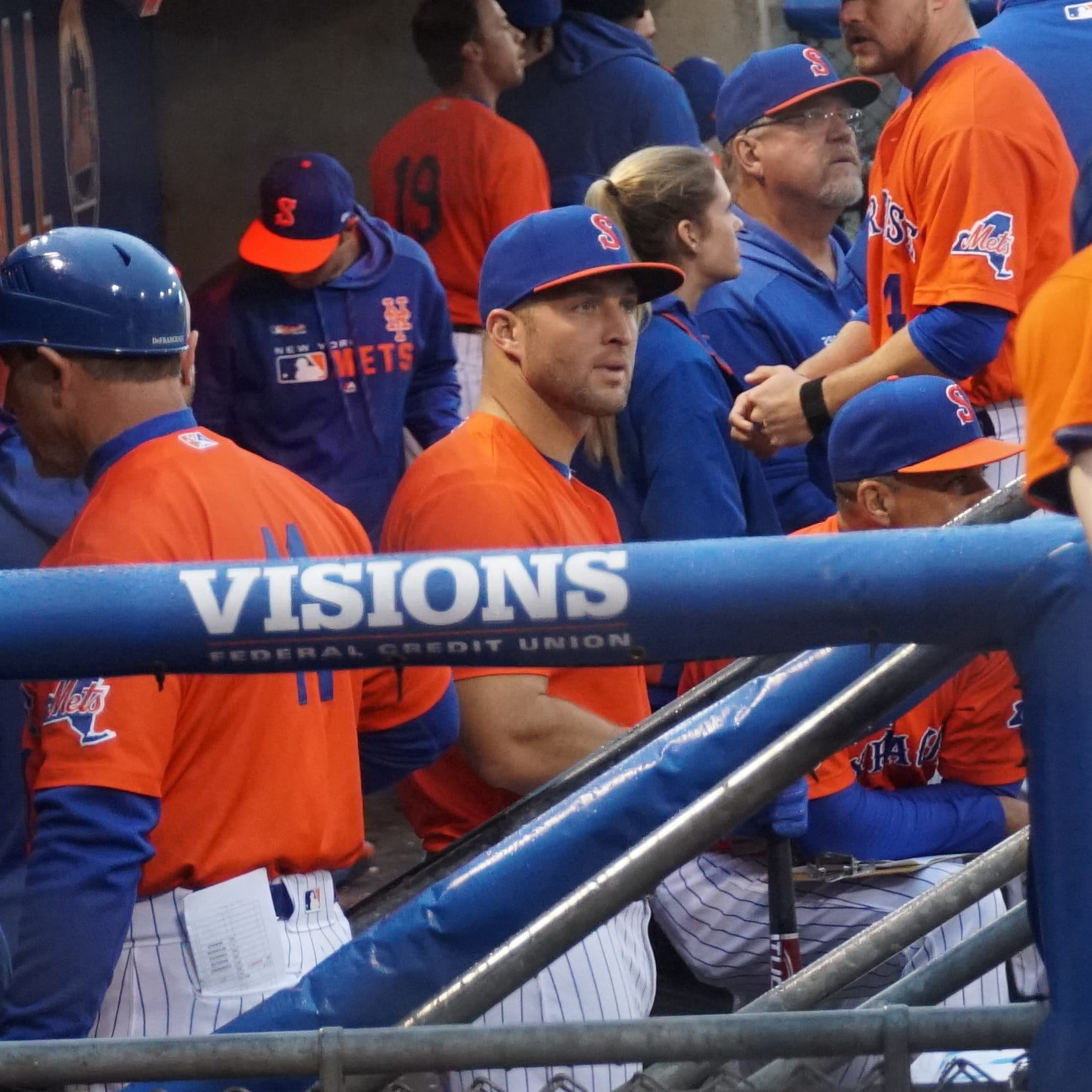 Mets outfielder Tim Tebow's inexperience exposed at Triple-A level