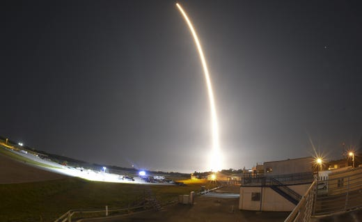 SpaceX successfully launched a Falcon 9 rocket on May 4, 2019 from Cape Canaveral Air Force Station Launch Complex 40 for its 17th Commercial Resupply Services mission to the International Space Station.