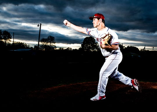 Zane Trace senior Chad Ison was first team All-SVC and second team All-District last season as a third baseman and a pitcher and has been one of the best pitchers and hitters in the area the past couple of seasons. This year he is 6-2 on the mound with a 2.58 ERA and 41 strikeouts in nine appearances and eight starts.